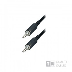1.5M Stereo 3.5MM Plug To Plug Mm Nickel